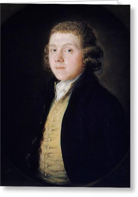 The Reverend Samuel Kilderbee Greeting Card by Thomas Gainsborough