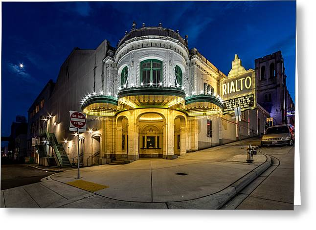 The Rialto Theater - Historic Landmark Greeting Card