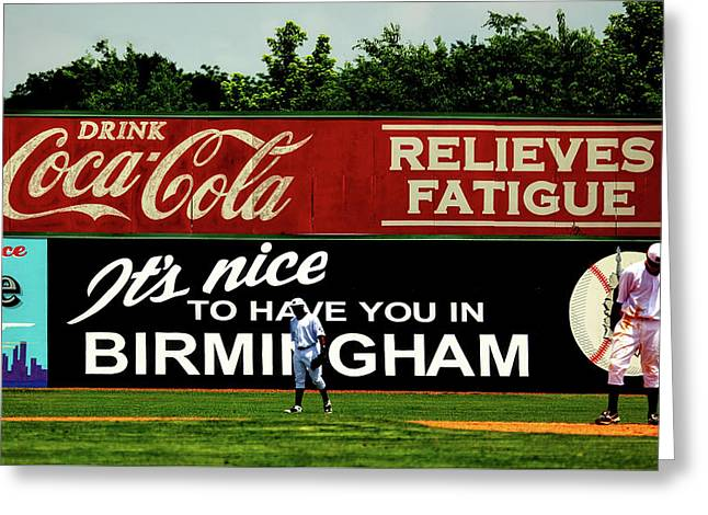 The Rickwood Classic - Birmingham Alabama Greeting Card by Mountain Dreams