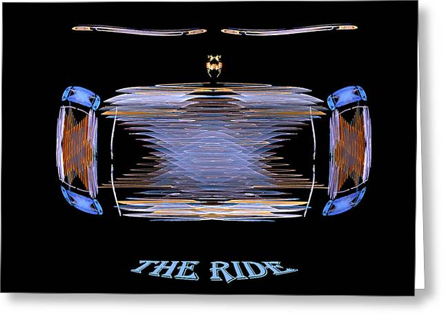 The Ride Greeting Card by R Thomas Brass