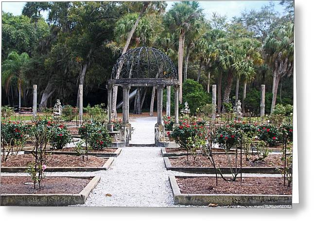 The Ringling Rose Garden Greeting Card