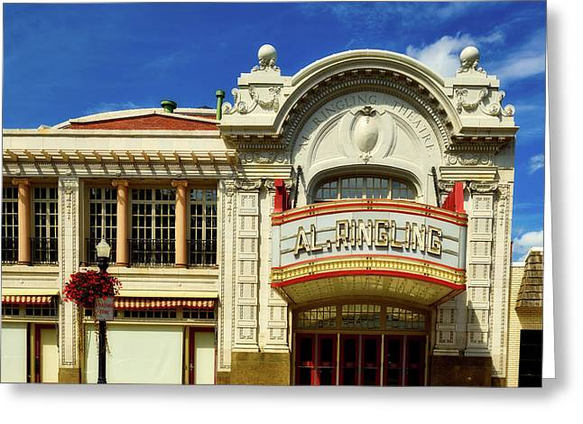 The Ringling Theatre Greeting Card