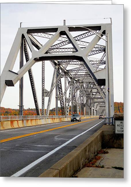 The Rip Van Winkle Bridge 3 Greeting Card