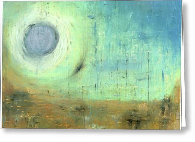 The Rising Sun Greeting Card by Michal Mitak Mahgerefteh
