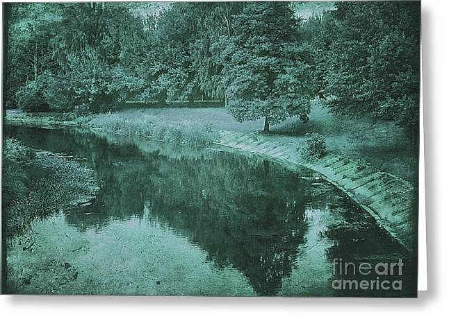 The River Bank Greeting Card