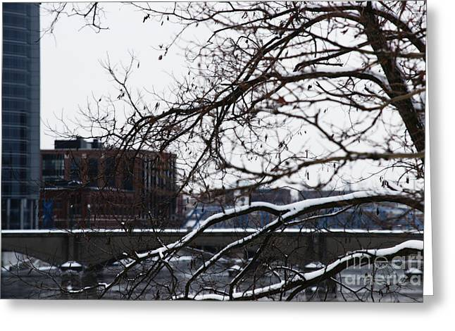The River Divide Greeting Card