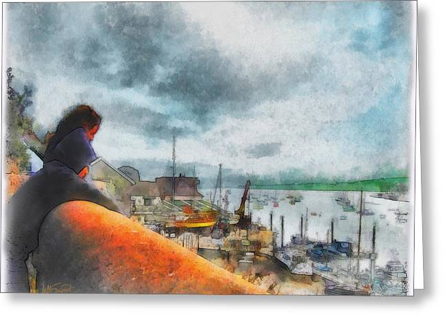The River Exe Greeting Card