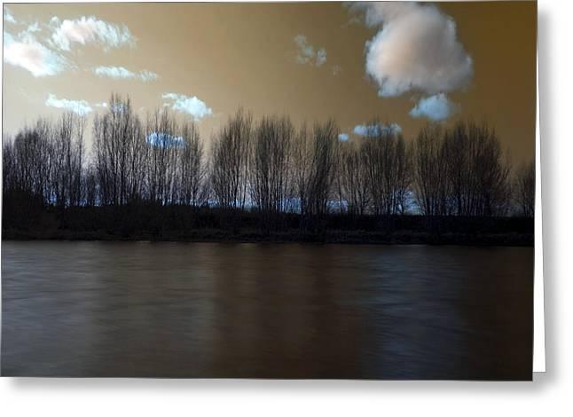 The River Of Dreams Greeting Card by Angel Ciesniarska