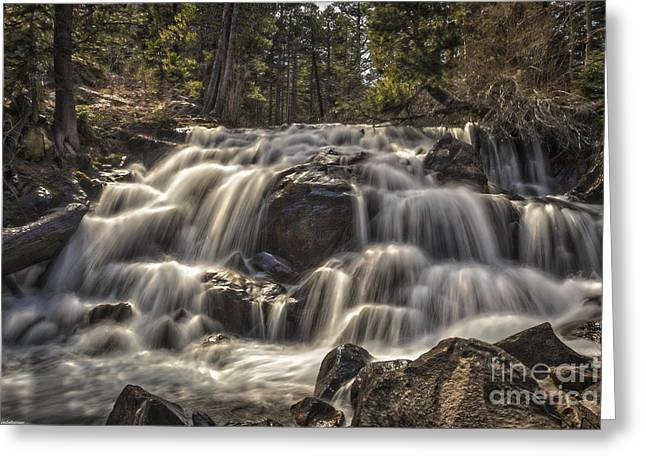 The River Of Time Greeting Card by Mitch Shindelbower