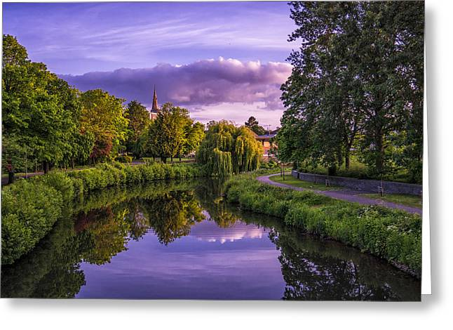 The River Tone Greeting Card by William Hole