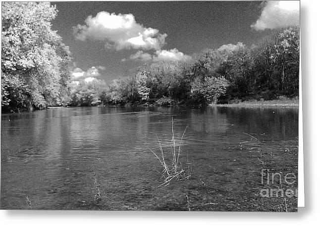 The Rivers Bend  Greeting Card by Scott D Van Osdol