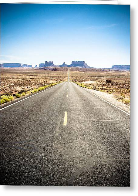 Greeting Card featuring the photograph The Road Ahead by Jason Smith