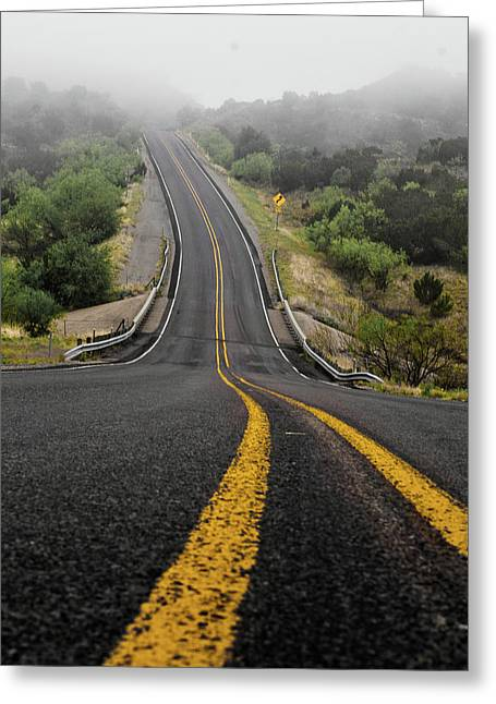 The Road Goes On Forever And The Party Never Ends Greeting Card