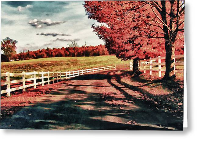 The Road Home Greeting Card by John Winner