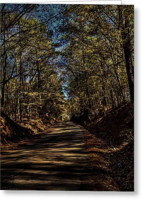 The Road Home Greeting Card by Thomas Warner