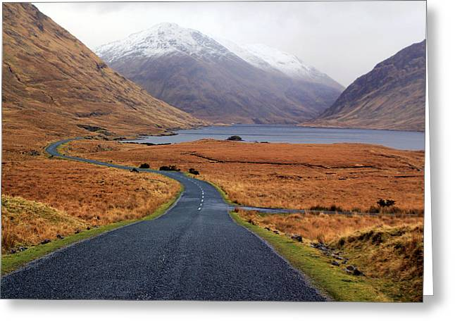The Road In Greeting Card