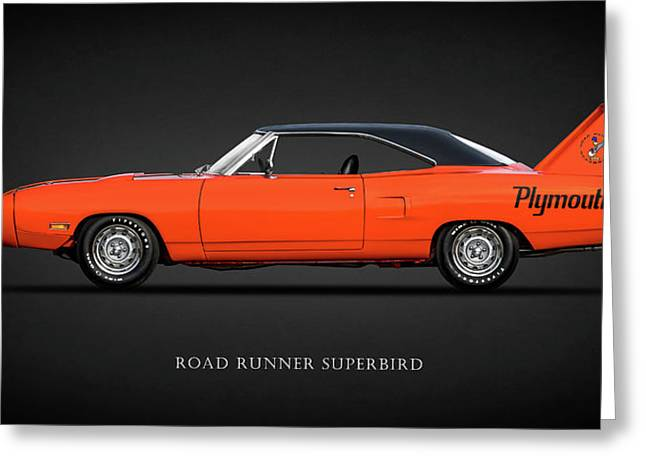The Road Runner Superbird Greeting Card