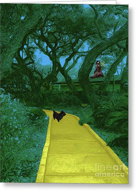 The Road To Oz Greeting Card