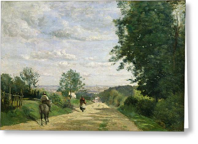 The Road To Sevres Greeting Card