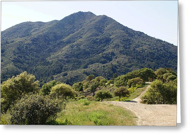 The Road To Tamalpais Greeting Card