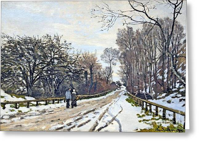 The Road To The Farm Of St. Simeon Greeting Card