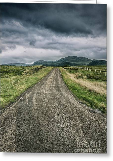 The Road To Tongue Greeting Card