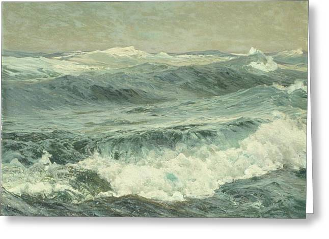 The Roaring Forties Greeting Card by MotionAge Designs