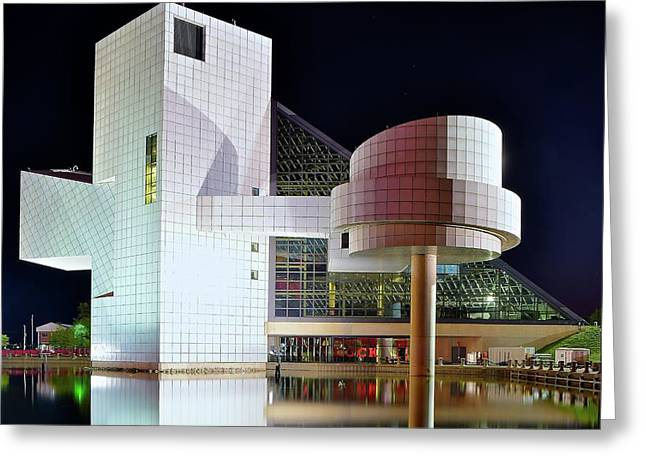 The Rock And Roll Hall Of Fame Greeting Card