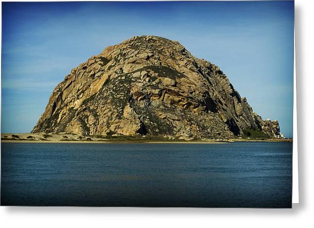 The Rock Greeting Card by John Gusky