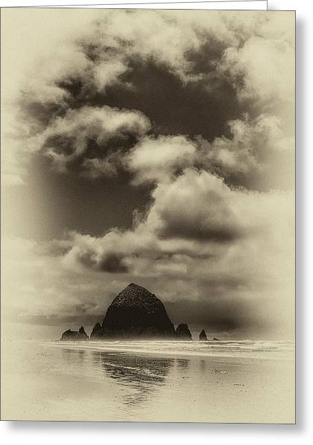 The Rock Of Paradise Greeting Card by David Patterson
