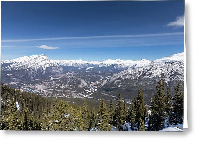 The Rockies Landscape Greeting Card