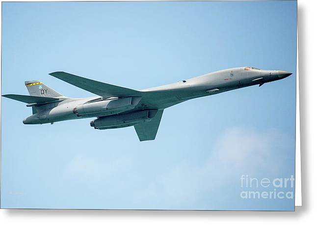 The Rockwell B-1 Lancer Greeting Card