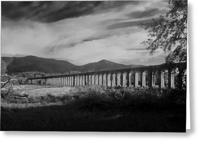 The Roman Aqueducts Greeting Card