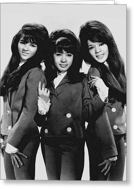 The Ronettes 1966 Greeting Card by Mountain Dreams