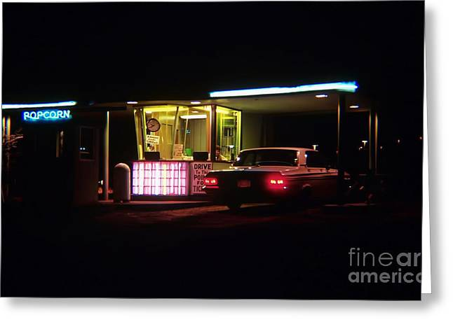 The Roosevelt Drive Inn Greeting Card by Corky Willis Atlanta Photography
