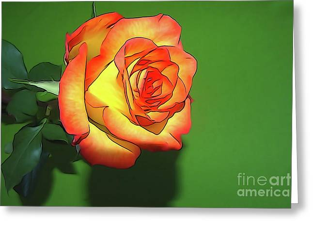 The Rose 4 Greeting Card