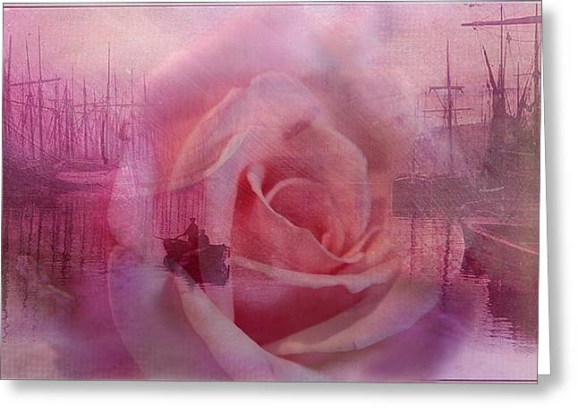 The Rose And The Sea Greeting Card