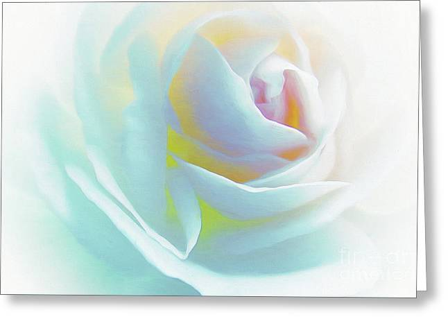 The Rose By Scott Cameron Greeting Card