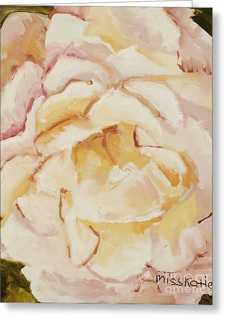 The Rose Greeting Card by Katie OBrien - Printscapes