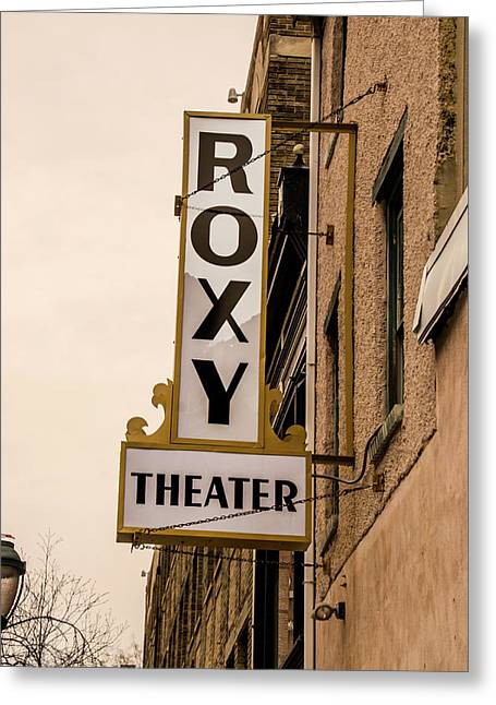 The Roxy Theater - Philadelphia Pa Greeting Card