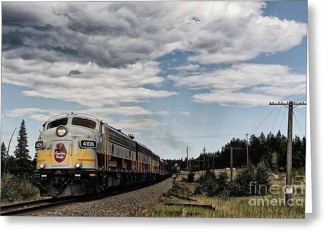 Greeting Card featuring the photograph The Royal Canadian Pacific  by Brad Allen Fine Art