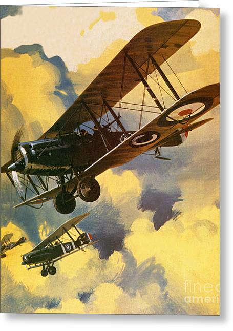 The Royal Flying Corps Greeting Card