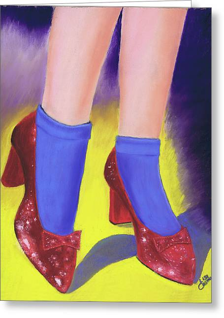The Ruby Slippers Greeting Card