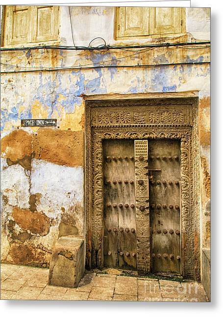 The Rustic Door Greeting Card