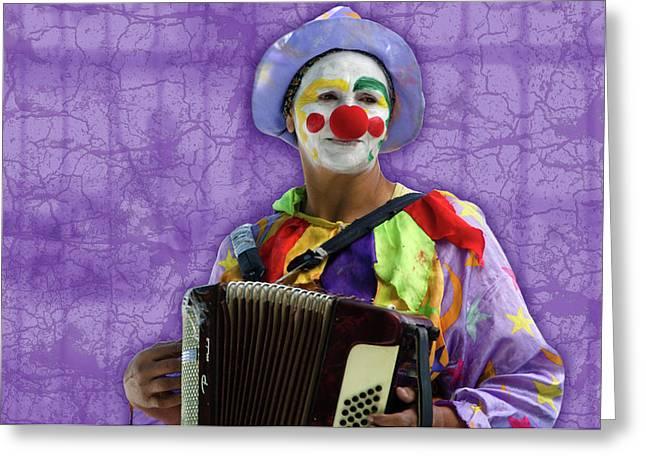 The Sad Clown Greeting Card