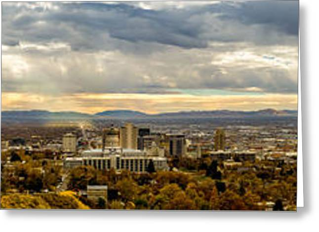 The Salt Lake Valley 2016 Greeting Card