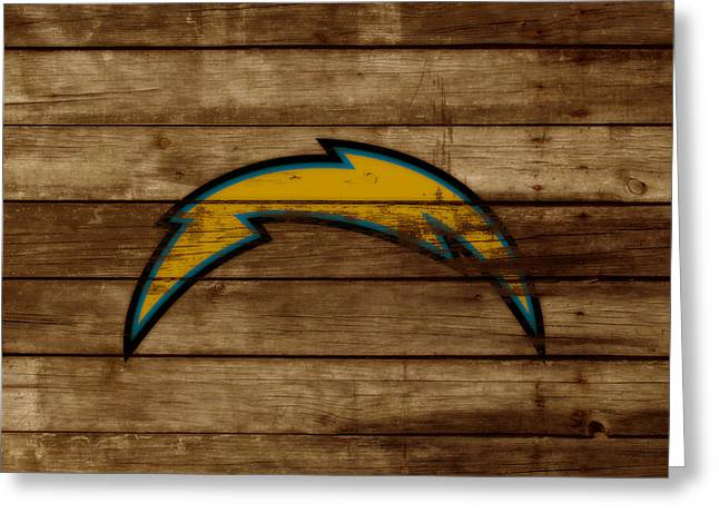 The San Diego Chargers 3a        Greeting Card