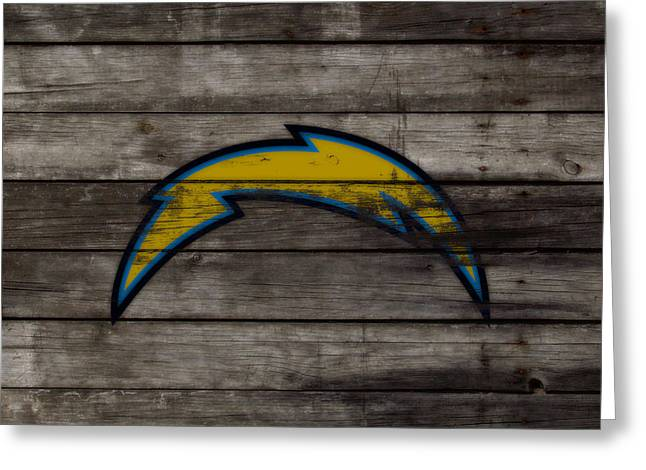 The San Diego Chargers 3b        Greeting Card