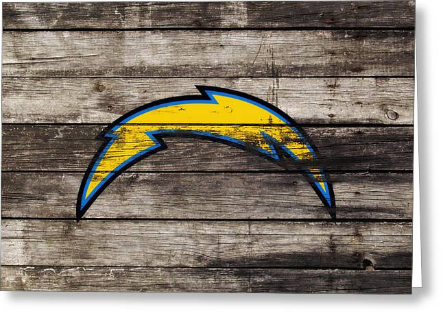 The San Diego Chargers 3j        Greeting Card
