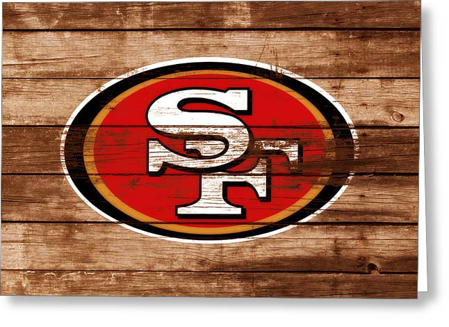 The San Francisco 49ers 3b    Greeting Card